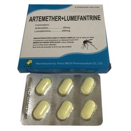 Tabletten 80/480 van Artemether Lumefantrine van samenstellings Farmaceutische Tabletten